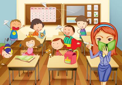 aprendiz de maestro interrupciones en clase