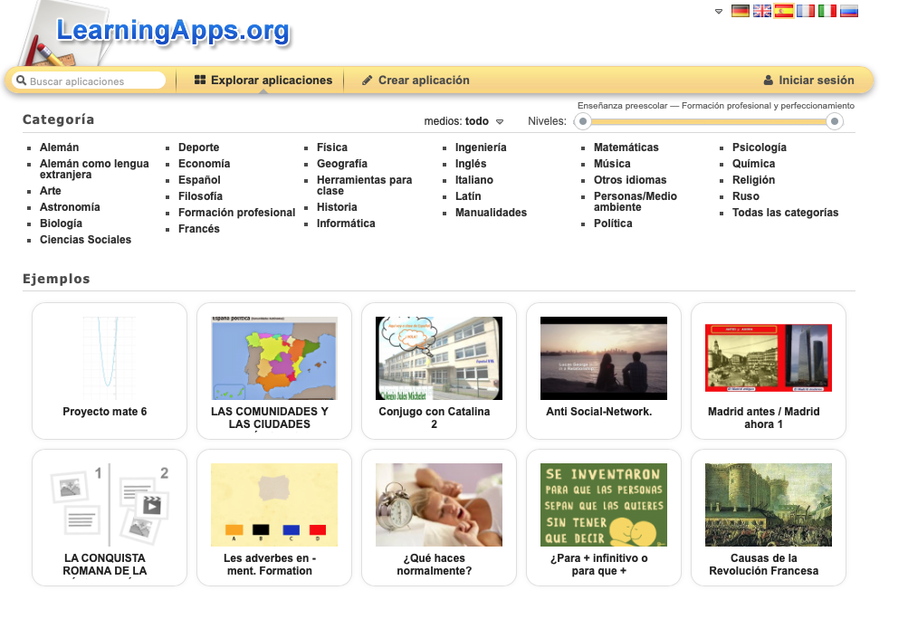 Juagar con Learning app profe jesus